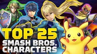 25 Best Super Smash Bros. Characters