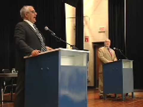 Congressman Barney Frank at Scituate High School