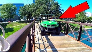 MAGNET FISHING in SKETCHY City Park!!! (Cops Called?!?!)