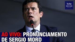 ASSISTA: SERGIO MORO FAZ PRONUNCIAMENTO AO LADO DO PRESIDENTE BOLSONARO - FLORIANÓPOLIS