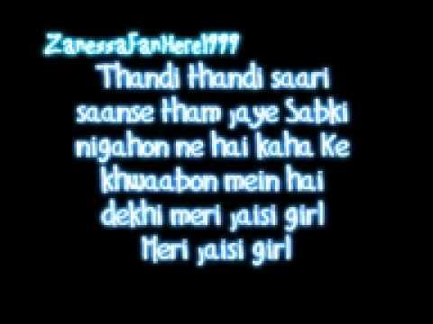 Desi Girl Lyrics.mp4 video