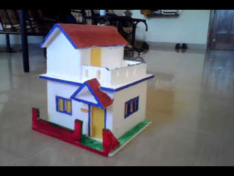 School Project House Model Model For School Project