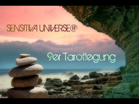 Die SENSITIVA UNIVERSE® 9er Tarotlegung | Was geschieht in Liebe, Arbeit, Familie und Finanzen? ♥