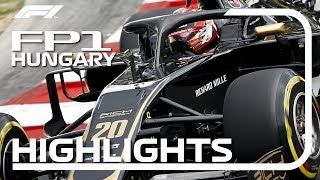 2019 Hungarian Grand Prix: FP1 Highlights