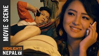 Dayahang Rai & Alisha Rai Funny Love Story (आजकलको लभ) - Nepali Movie LOOT 2 Clip 2018