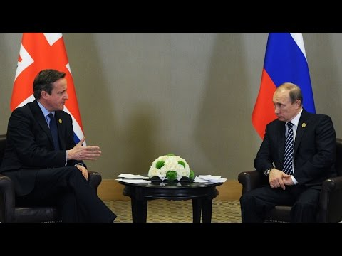 Putin, Cameron meet for 1st time in a year amid Syria crisis