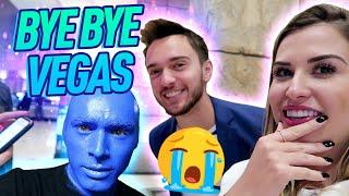 Bastidores do Show Blue Man + Últimos Momentos em Vegas!