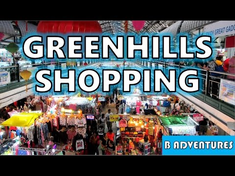 Travel Philippines, S1, Ep 21/26, Manila, The Fort Strip Taguig, Greenhills Shopping Center San Juan