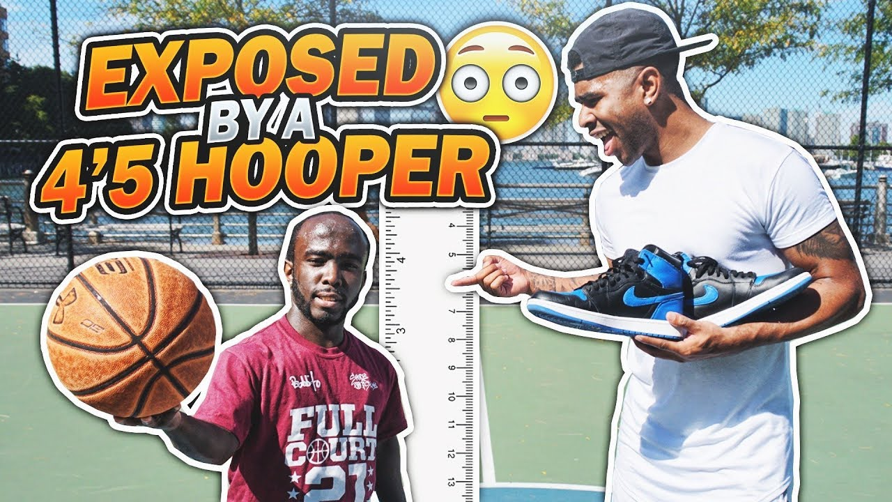 GOT EXPOSED BY A 4'5 HOOPER!!!