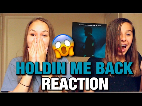 HOLDIN ME BACK SHAWN MENDES (FIRST) REACTION