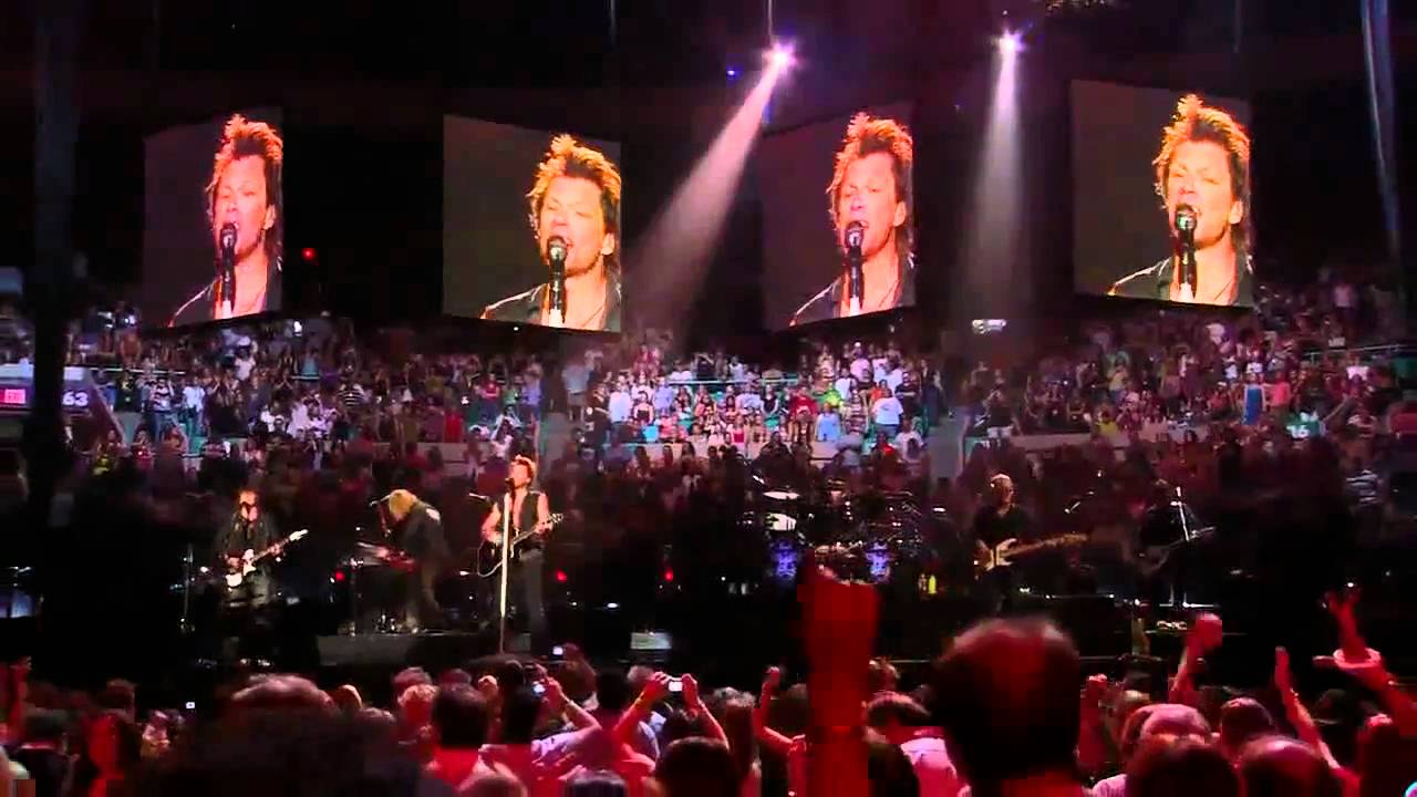 Hd bon jovi living in sin live at madison square youtube for Bon jovi madison square garden