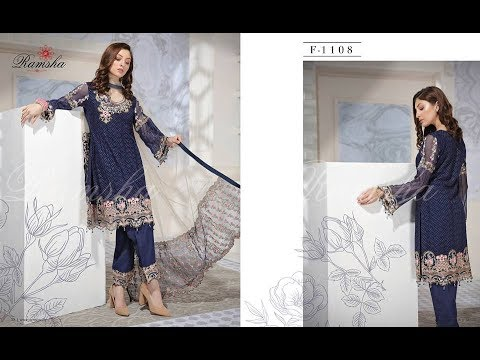 New Lawn Dress Designs 2018-19
