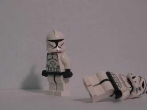 Clone vs Stormtrooper.