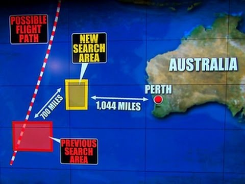 Malaysia Airlines Flight 370: Credible lead shifts search area further north