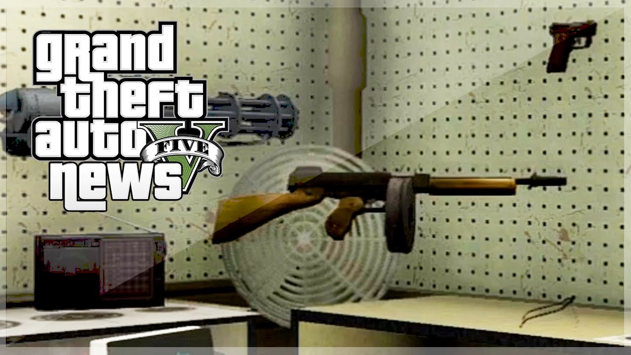 Gta 5 New Guns Gta 5 Valentines Day Dlc