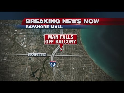 Man falls from balcony at Bayshore Town Center, condition unknown