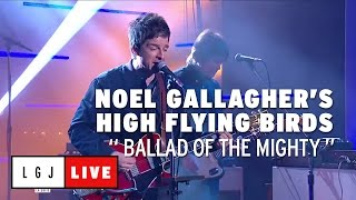 """Noel Gallagher's High Flying Birds - 仏CANAL+が""""Ballad Of The Mighty I""""のライブ映像を公開 thm Music info Clip"""