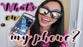 WHAT'S ON MY PHONE? SAMSUNG EDITION!