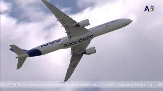 Paris Airshow 2019 - A330 Neo & A350-1000 Display