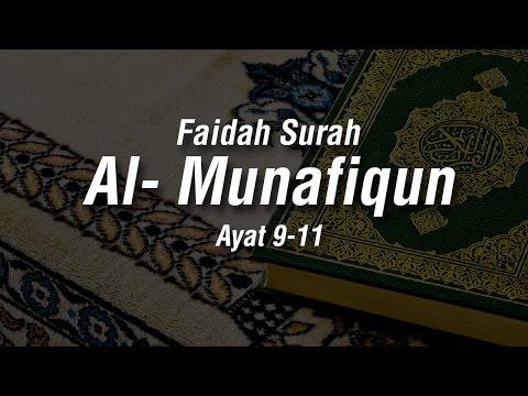 Faidah Surah Al - Munafiqun Ayat 9-11 - Ustadz Ahmad Zainudin Al-Banjary