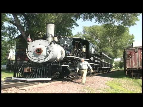 Virginia City, Montana Steam Locomotive