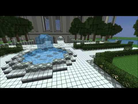 Minecraft 1.1 Epic Build - Museum/Mansion 1080p HD