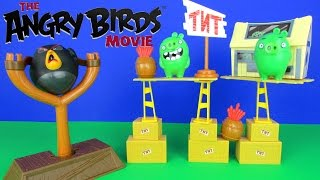 Angry Birds The Movie TNT Invasion Playset Birds vs Pigs Unboxing Spin Master