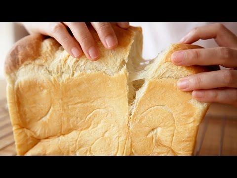 超軟拉絲的湯種法北海道牛奶吐司/面包