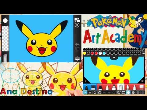 Pokémons Art Academy #1 - ¡Que verguenza!