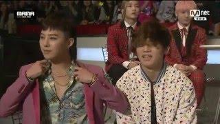 Big Bang Backstage @MaMa 2015 in Hong Kong 151202