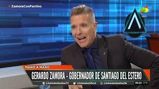 Gerardo Zamora mano a mano con Fantino