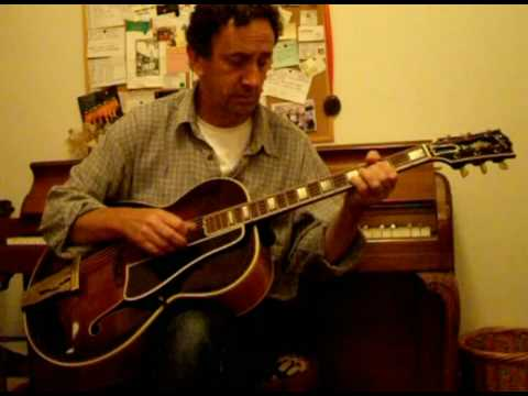 Eddie Lang's guitar part from Bing Crosby's 'Please'. Played by Piers Clark