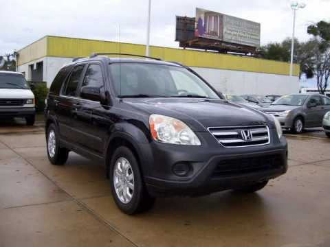 On Sale: 2006 Honda CRV EX with 51k miles in Ocala Florida #694-1234