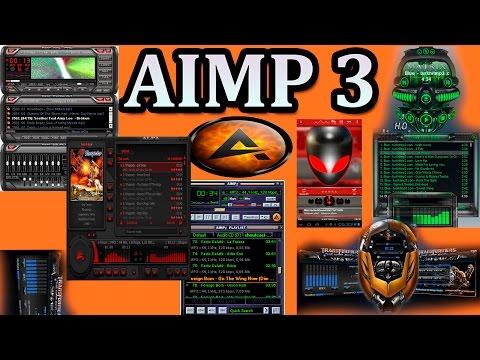 EL MEJOR REPRODUCTOR DE MÚSICA PARA TU PC AIMP 3 ULTIMA VERSIÓN 2015 CON  SKIN