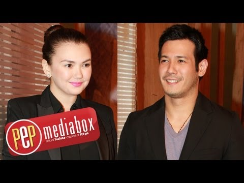Angelica Panganiban and John Prats comment on Melai Cantiveros
