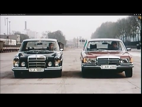 "Mercedes-Benz  The S-Class History ""Ahead Of Its Time"""