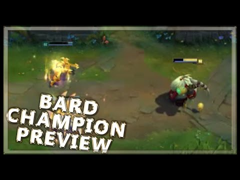 Bard Gameplay Abilities Spotlight New Champion League of Legends