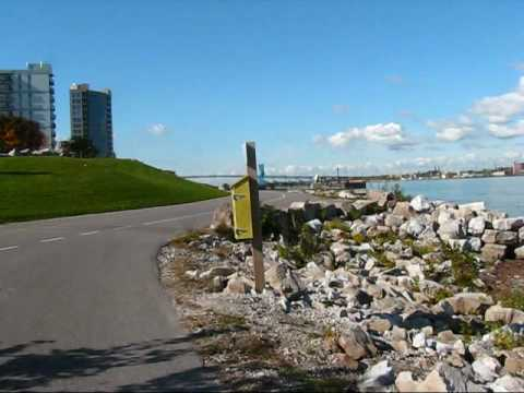 Exploring Windsor, Ontario: Waterfront with Great View of Detroit & Sculpture Garden