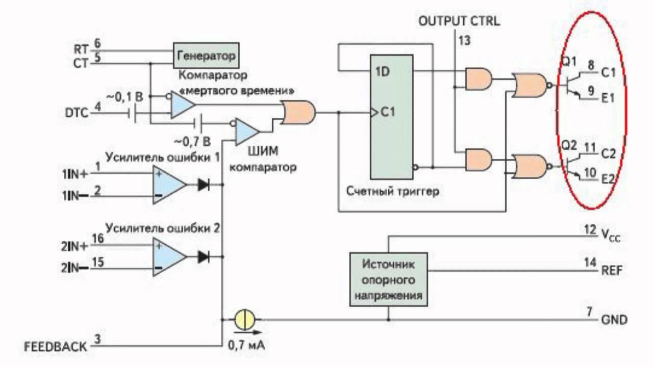 Схема импульсный блок питания js-777