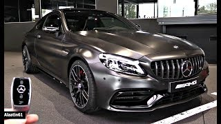 Mercedes C63 AMG Coupe 2019 NEW FULL Review Interior Exterior Infotainment