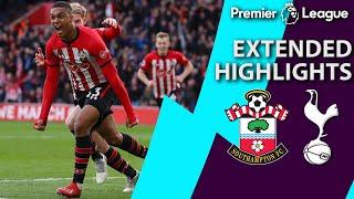 Southampton v. Tottenham   PREMIER LEAGUE EXTENDED HIGHLIGHTS   3/9/19   NBC Sports