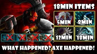 [Axe] Offland Vs 4Men Melee | No One Can Do Any Thing FullGame Dota 2 7.20e