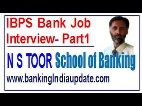 IBPS Bank Job Interview Tips Part - 1
