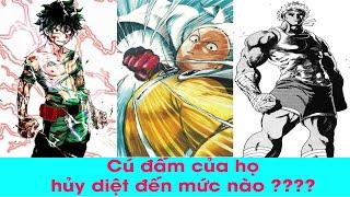 Top 6 nhân vật sở hữu cú đấm đấm phát chết luôn l Top Anime