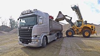 Scania R730 and loaders