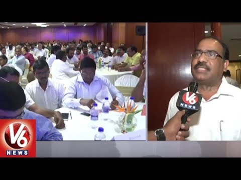 Credai Officials Conducts Awareness Program For Developers Over RERA Act | Hyderabad | V6 News