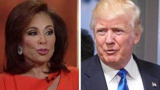 Judge Jeanine: President Trump needs a war room