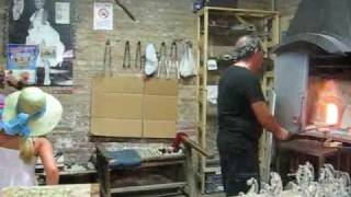 Стеклодув Glassblower Glasbläser