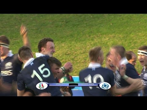 [HIGHLIGHTS] Italy 18-21 Scotland at JWC 2014