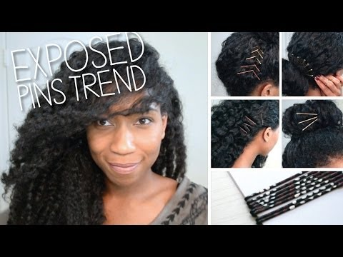 Wearable Exposed Pins Trend + DIY Decorative Bobby Pins!
